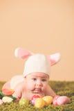 Coniglietto di pasqua del bambino Immagine Stock Libera da Diritti