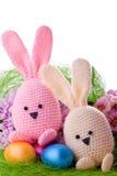 Bunnys di Pasqua Fotografia Stock Libera da Diritti