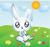 Coniglietto di pasqua per i bambini Fotografia Stock