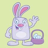 Coniglietto di pasqua sciocco royalty illustrazione gratis