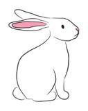 Coniglietto disegnato a mano