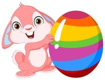 Coniglietto sveglio Pasqua Immagini Stock