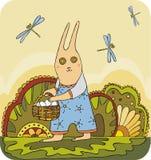 Coniglio 1 di Pasqua Fotografie Stock Libere da Diritti