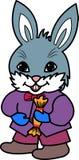 Coniglio con la caramella Immagine Stock Libera da Diritti