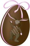Coniglio dell'uovo di Pasqua illustrazione vettoriale