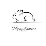 Coniglio di Pasqua Fotografie Stock