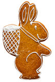 Coniglio di Pasqua - isolato Immagini Stock Libere da Diritti