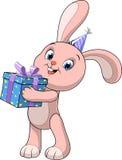 Coniglio divertente del bambino Immagine Stock