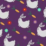 Coniglio e carote Immagine Stock Libera da Diritti