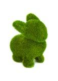 Coniglio fatto di erba Fotografia Stock Libera da Diritti