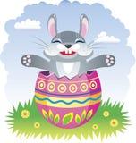Coniglio leggiadramente di Pasqua Fotografie Stock Libere da Diritti