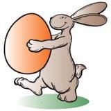 Coniglio orientale illustrazione di stock