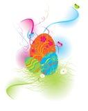 Coniglio orientale che cerca colore delle uova Immagine Stock Libera da Diritti