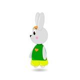Coniglio sveglio del fumetto Fotografia Stock