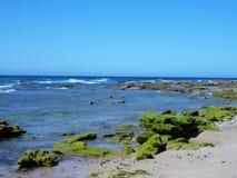 Conil beach Cadiz. Conil de la frontera-beach-Cadiz-Spain Royalty Free Stock Photography