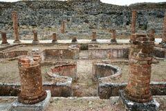 conimbriga葡萄牙罗马废墟 图库摄影