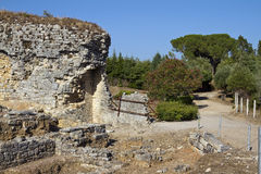 Conimbriga Roman ruins Royalty Free Stock Images