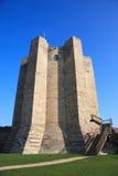conisbrough замока стоковое изображение