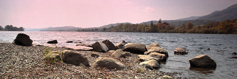 Coniston. Water to Old Man of Royalty Free Stock Photography