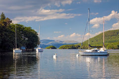 Coniston Blue Stock Image
