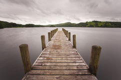 Coniston jetty Stock Images