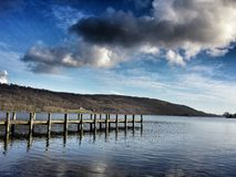 Coniston Jetty Royalty Free Stock Images