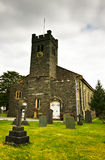 Coniston Kirche Lizenzfreies Stockbild