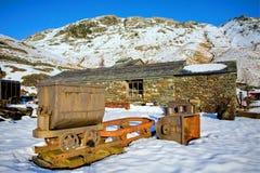 Coniston Kupferminen lizenzfreie stockfotos