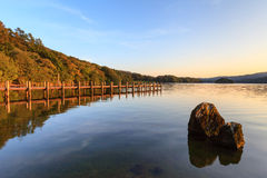 Coniston Landing Stage Stock Images