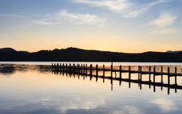 Coniston Landing Stage Royalty Free Stock Image
