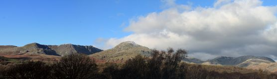 Coniston Old Man Cumbria Royalty Free Stock Photography