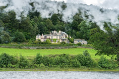 CONISTON WATER, LAKE DISTRICT/ENGLAND - AUGUST 21 : John Ruskin' Stock Images