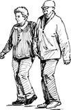 Coniugi anziani Fotografia Stock Libera da Diritti