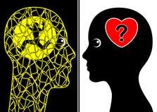 Conjoint avec la maladie mentale illustration de vecteur