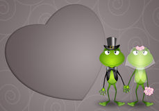Conjoints de grenouille illustration libre de droits