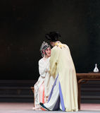 """Conjugal love-The third act  Dragon Boat Festival-Kunqu Opera""""Madame White Snake"""" Royalty Free Stock Images"""