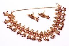 Conjunto étnico de Jewelery Fotografía de archivo libre de regalías