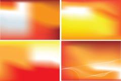 Conjunto abstracto anaranjado del acoplamiento
