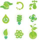Conjunto ambiental Imagen de archivo libre de regalías