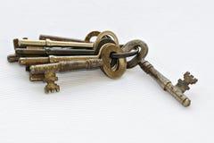 Conjunto antiguo del clave Fotografía de archivo libre de regalías