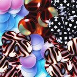 Conjunto Ball-shaped Fotografía de archivo libre de regalías