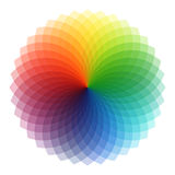 Conjunto circular del modelo Imagen de archivo