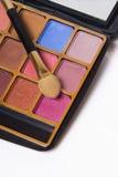 Conjunto compacto del maquillaje Imágenes de archivo libres de regalías