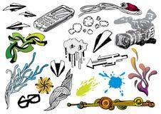 Conjunto creativo #19 Ilustración del Vector