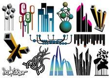 Conjunto creativo #20 Imágenes de archivo libres de regalías