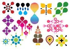 Conjunto creativo #23 Ilustración del Vector