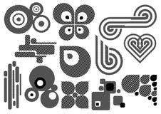 Conjunto creativo #25 Ilustración del Vector