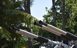 Conjunto da arma de quarenta milímetros Fotografia de Stock