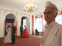 Conjunto da nobreza de Moscovo da esfera da mola Fotografia de Stock