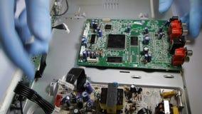 Conjunto da placa de circuito vídeos de arquivo
